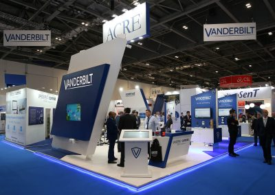 IFSEC London Custom Exhibition Stand