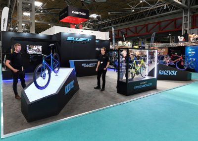 The Cycle Show Custom Exhibition Stand