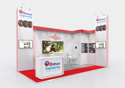 6m x 3m Exhibition Stand Design