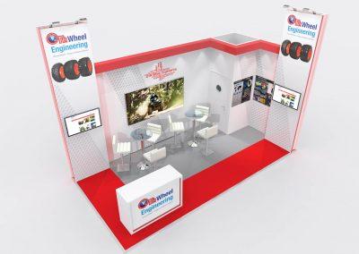 6m x 3m Exhibition Stand Design