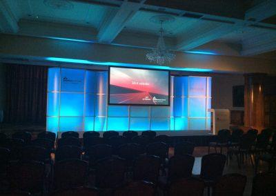 Modular Conference Backdrop