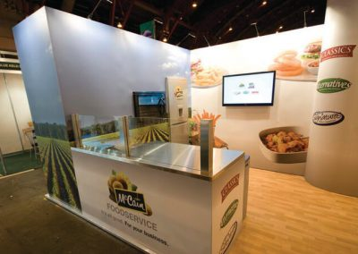 Food Show Exhibition Stand