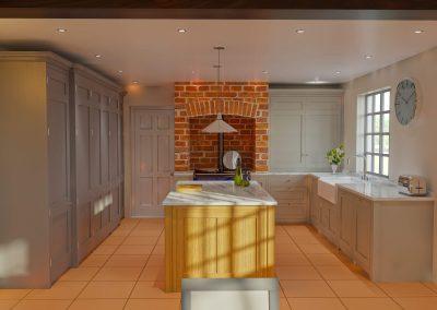 Interior Kitchen CGI