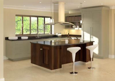 Bespoke Kitchen CGI