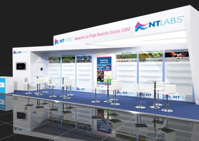 Bespoke Exhibition Stand Design for Aqua Telford