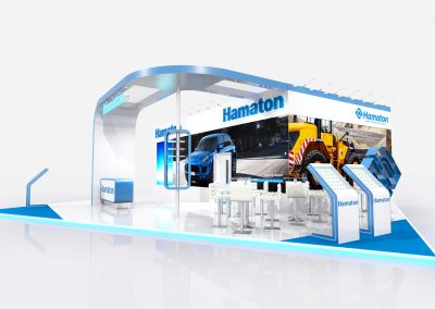 Exhibition Stand Design for Automechanika