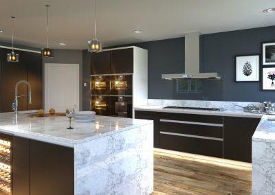 CG Visualisation of Kitchen