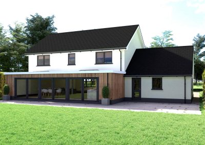 Architectural Visualisation of House Exterior