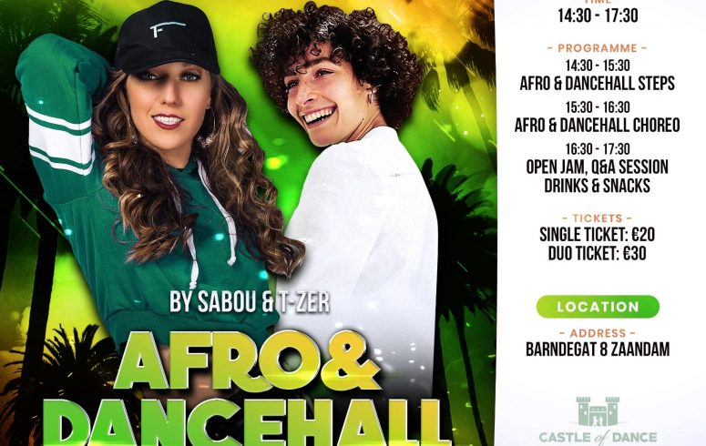 Afro & Dancehall Bootcamp 2020