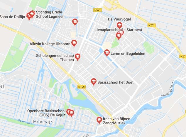 Taalhuis Uithoorn - Scholen in Uithoorn - contacten