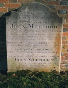Mulford's Grave