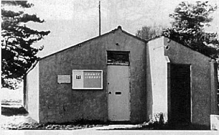 Barry Howard's Memories - local library, (formerly Hut 282)