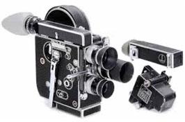 Göran du Rees första 16mm kamera