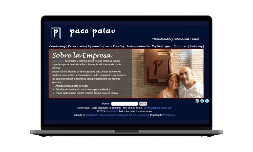 Diseño web negocio local