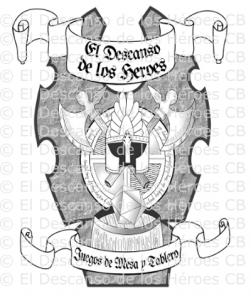 Versión digitalizada de la idea original logo para tienda de rol y juegos - Portfolio de Diseño Gráfico - Taisa Designer