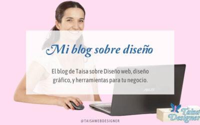 Comenzando mi Blog de Diseño Web, Gráfico, UX y Redes Sociales