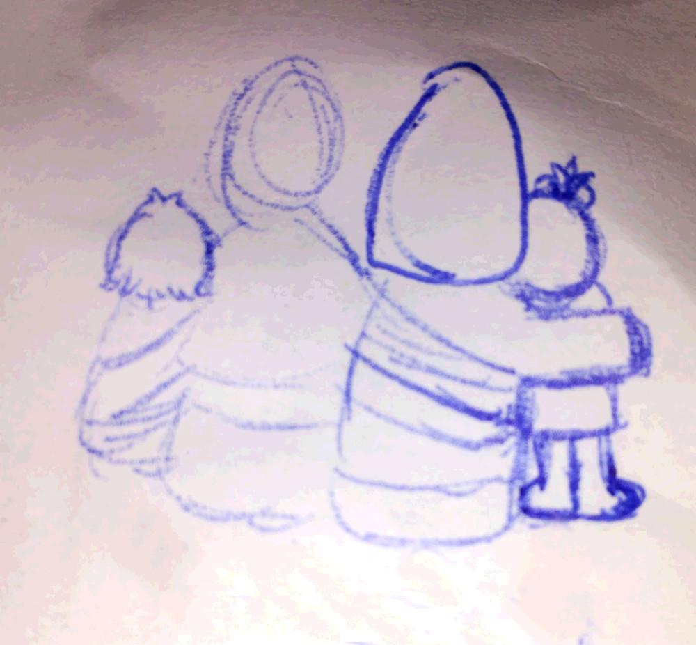 Boceto del nuevo Logotipo para el Blog
