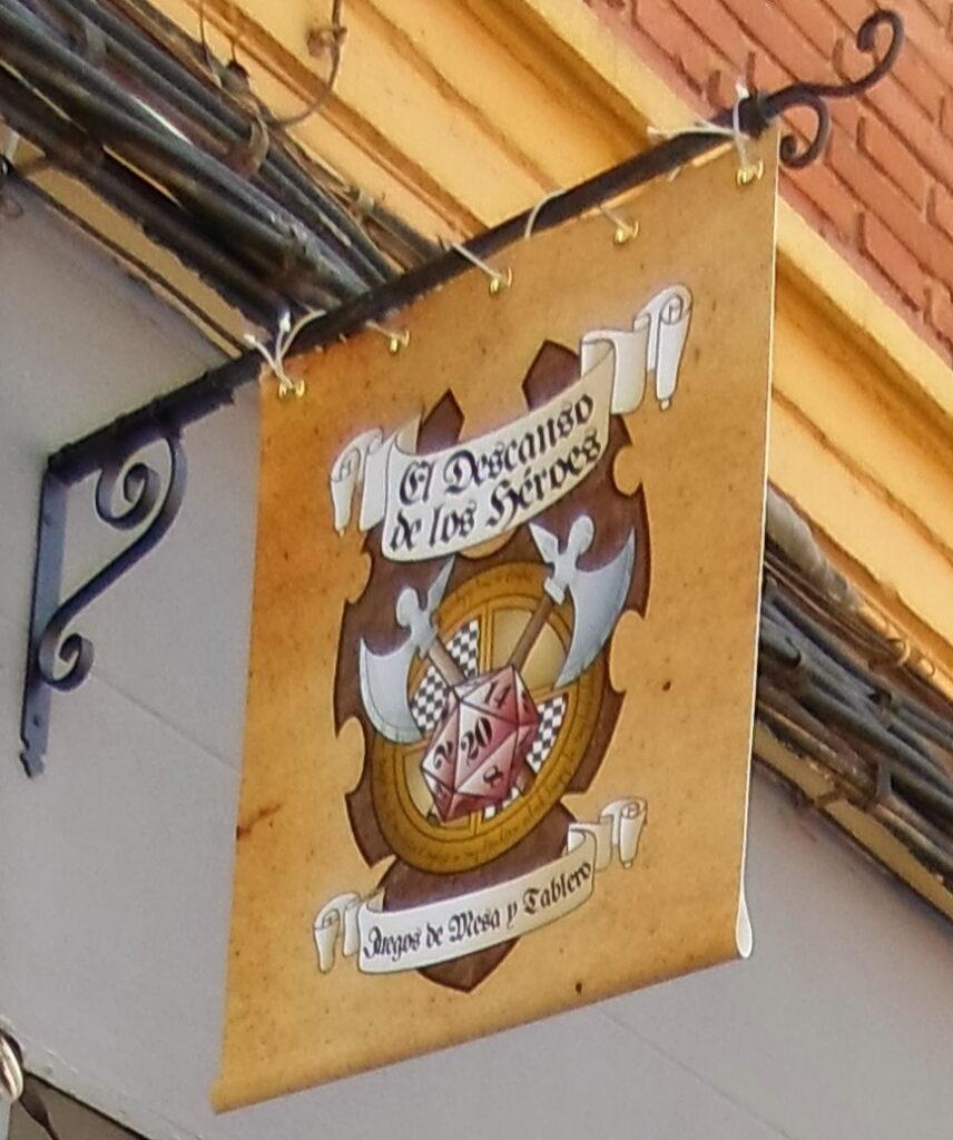 Logo in Shop front - Vectorial logos