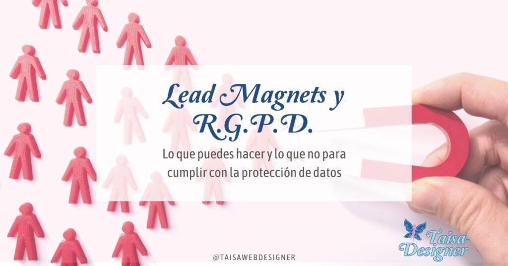 Legalidad de los formularios de suscripcion con Lead Magnet