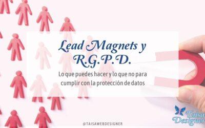 Lead Magnet y RGPD – Información sobre el consentimiento