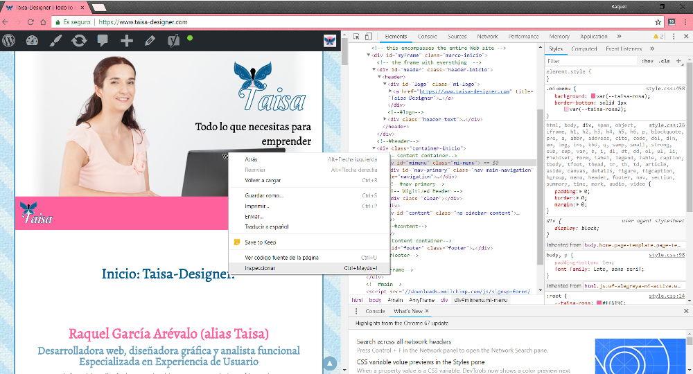 Cómo funciona una página web - Ver el código de una web