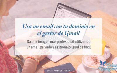 Cómo entrar a tu cuenta de correo con dominio propio con Gmail