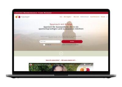 Web design for spanish teacher