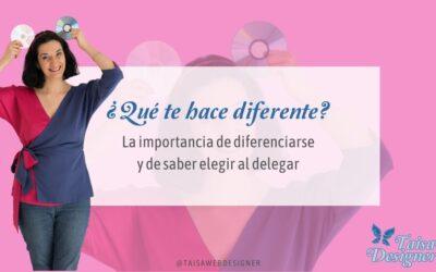 La importancia de diferenciarse y saber elegir para delegar