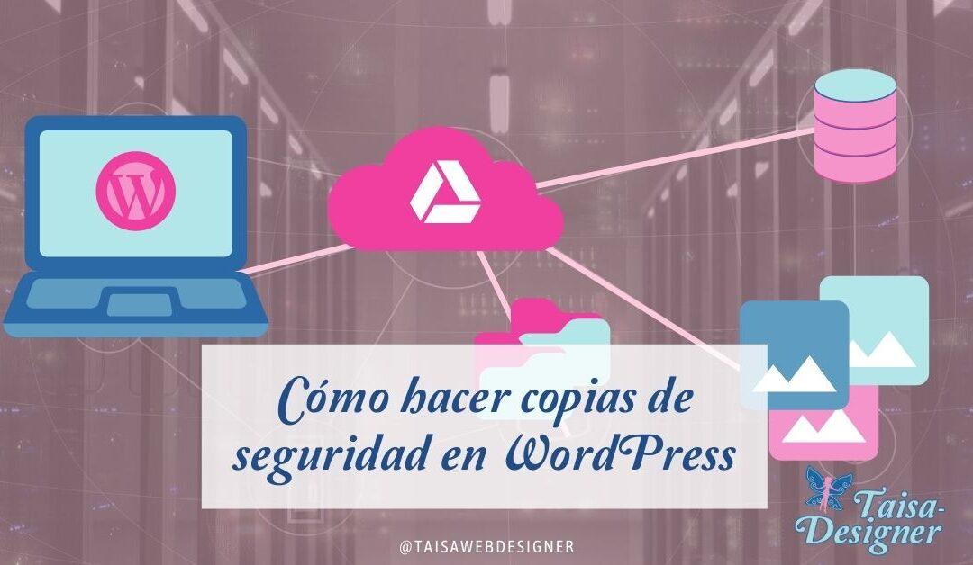 Plugin de copias de seguridad para WordPress instalar y configurar