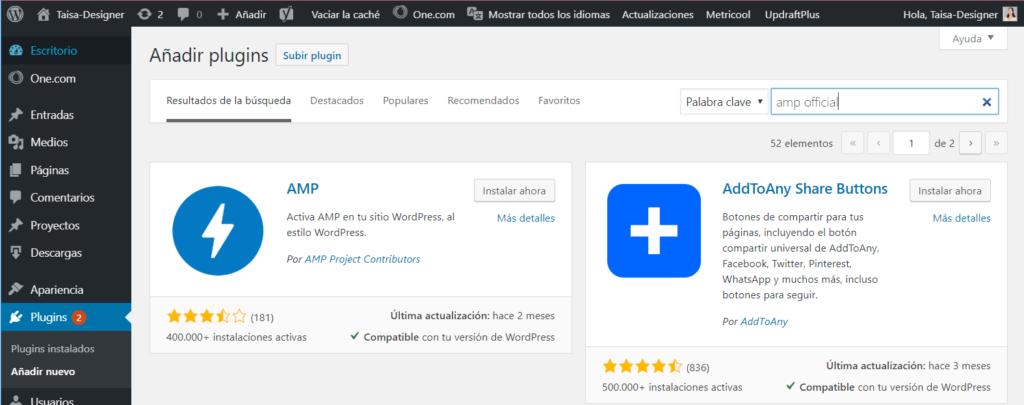 Cómo configurar AMP en WordPress