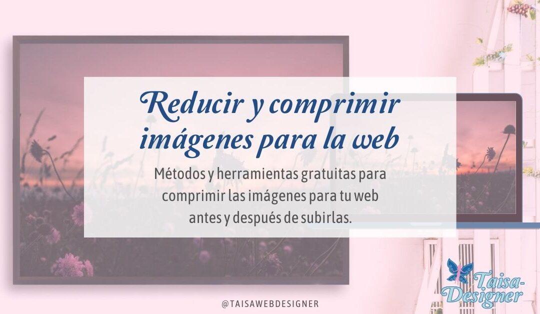 Comprimir imágenes web para mejorar el rendimiento
