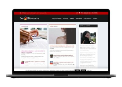 Blog design en-alemania.com