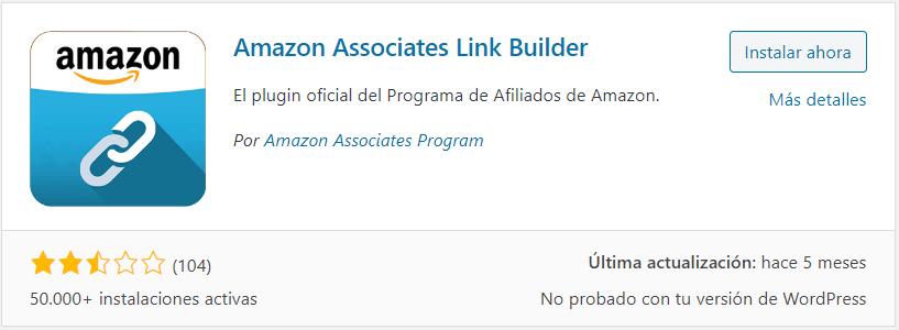 Plugin oficial de afiliados de Amazon