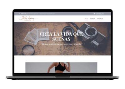 Nutrition blog design | Fabiblogs.com