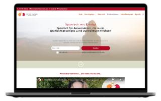 Diseño web para profesoras de español e idiomas