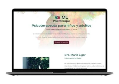 Psychotherapie Webdesign