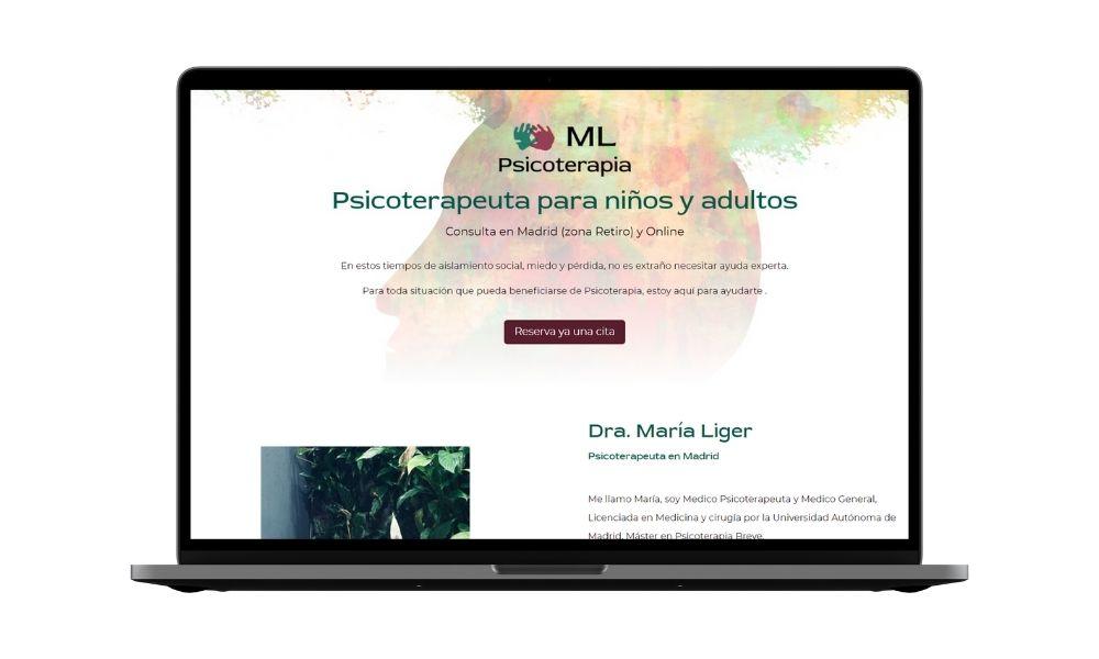 Diseño web psicologia psicoterapia