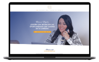 Diseño web para psicólogas y coach