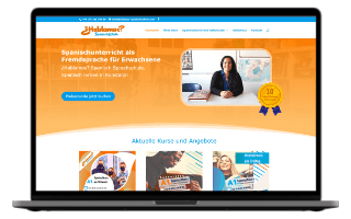 Spanischlehrerin Webdesign