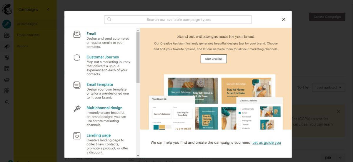 Cómo crear una campaña con MailChimp - Enviar un Email desde MailChimp.