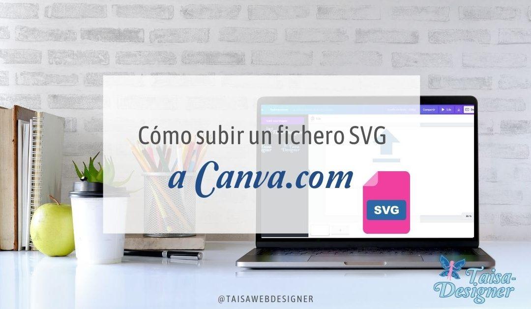 Cómo subir un fichero SVG a Canva.com