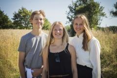 Peter, Rikke og Lotte