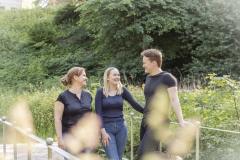 Lise, Clara og Adam
