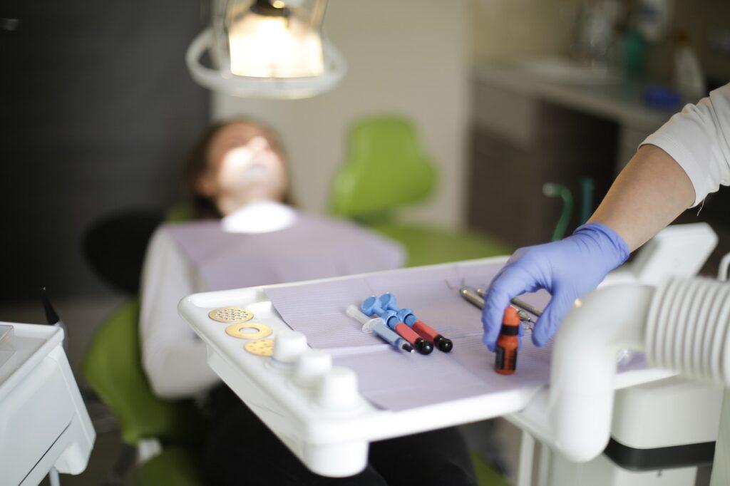 dentist, tools, clinic