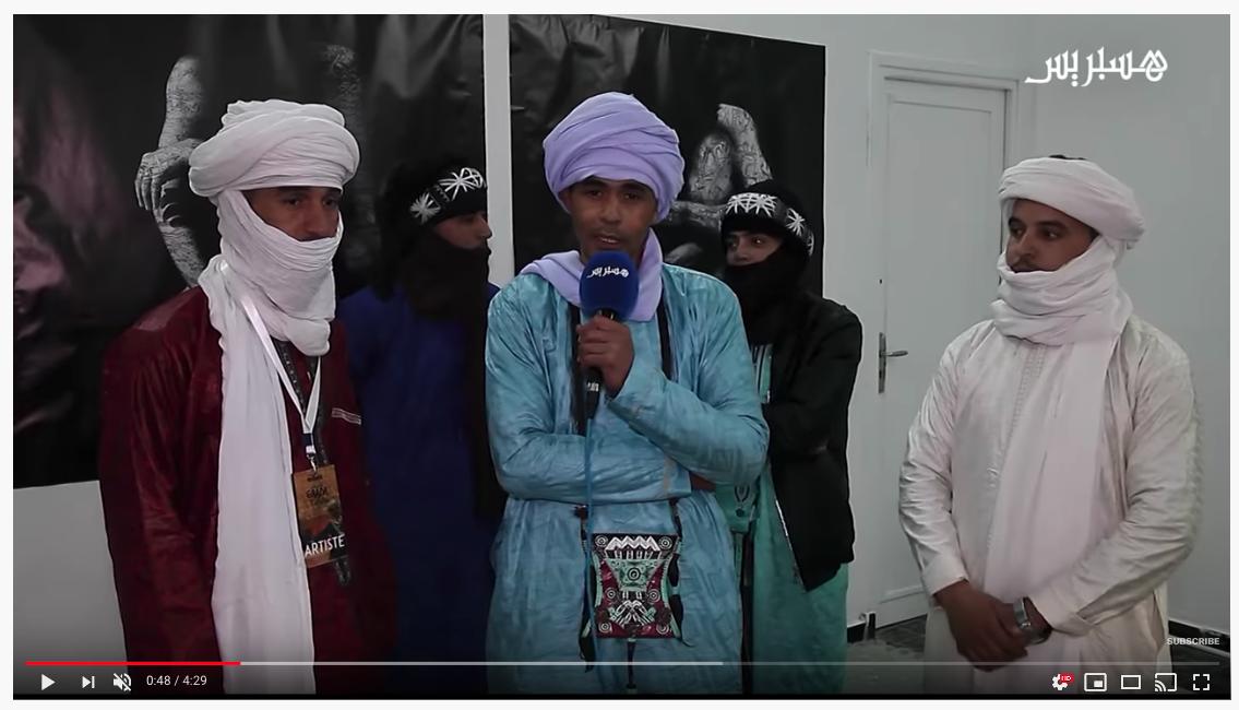 Hespress about Gaâda festival