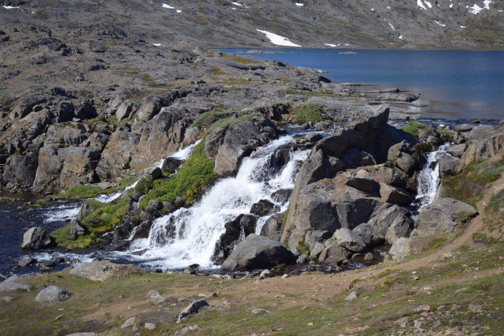 Waterfall near Tasiilaq