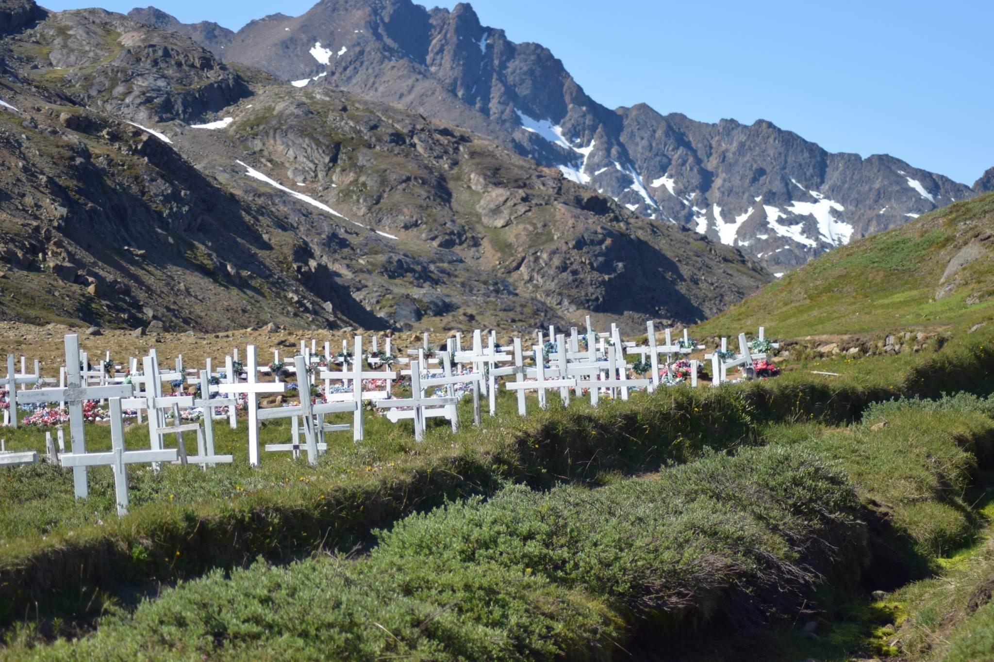 Graveyard in Tasiilaq