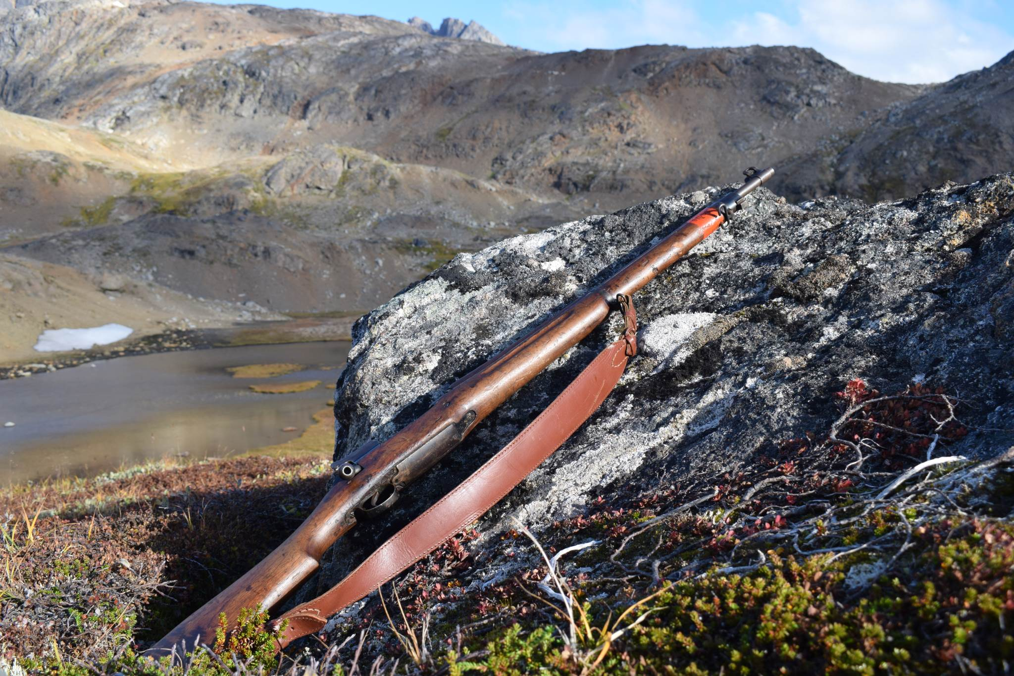 Old world war 2 rifle - used for polar bear protection