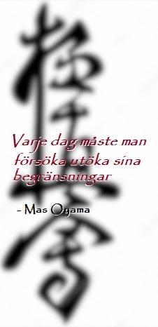 Mas Oyama-citat