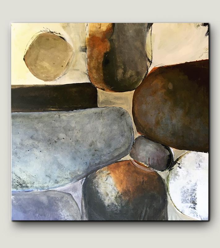 Stora tavlor abstrakt modern konst Tomas Vagner original natur landskap